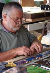 Lamar Yoakum, Master Stained Glass Artisan and Creator of The Grotto of Hope Stained Glass Biodiversity Windows
